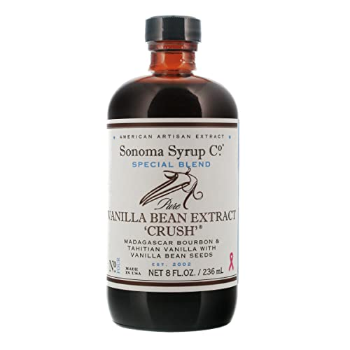Sonoma Syrup Co Vanilla Bean Crush Extract