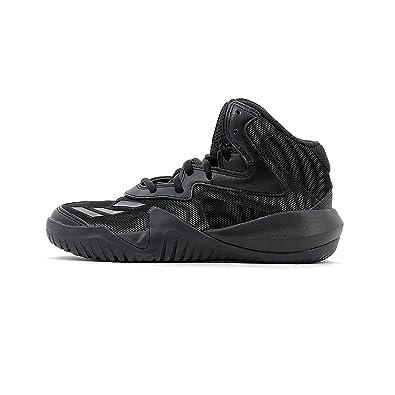 new arrival 04af3 506d5 adidas Crazy Team K, Chaussures de Fitness Mixte Enfant,  Multicolore-GrisNoir