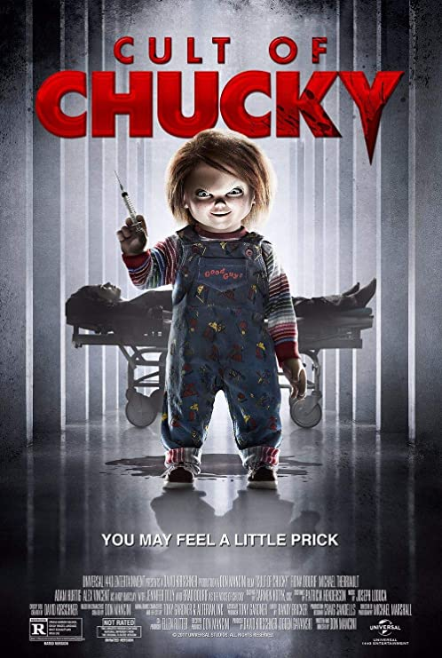 Lionbeen Cult of Chucky Movie Poster Cartel de la Pelicula ...