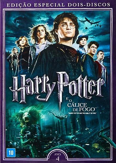 Harry Potter E O Calice De Fogo Dvd Br