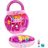 Shopkins Lil Secrets Playset - Collectable Mini Playset with Secret with Shoppie & Shopkin Toy Inside Princess Hair Salon Pink