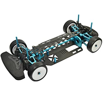 Amazon.com: 1:10 Rc Car Aluminium alloy & Carbon Shaft Drive 1/10 ...