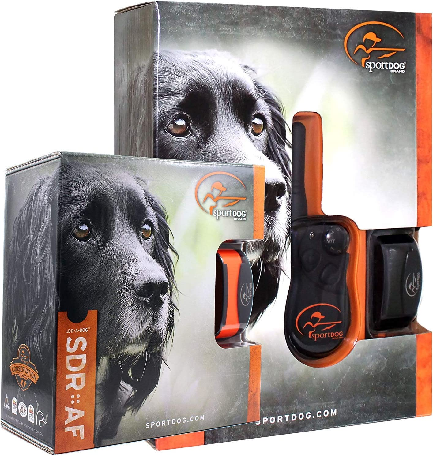 Bundle of 2 items - SportDog - SD-425 - SDR-AF Two Dog Field Trainer for Introductory and Advanced Training Dog Waterproof Shock Collar