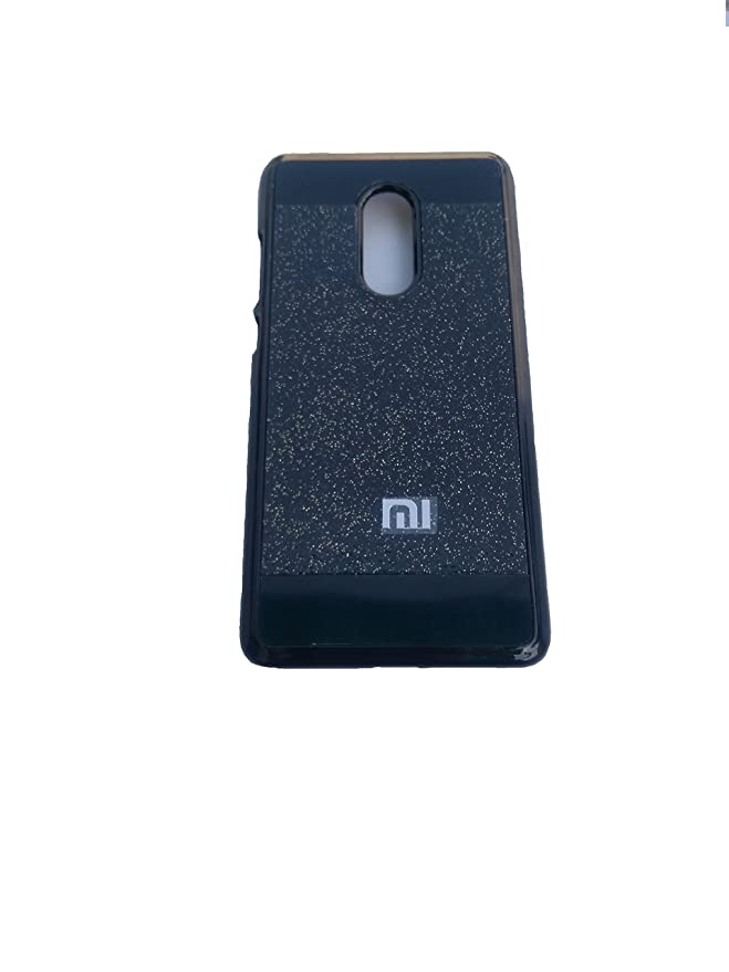 Xiaomi Redmi note 4 back cover black gillter Mobile Accessories
