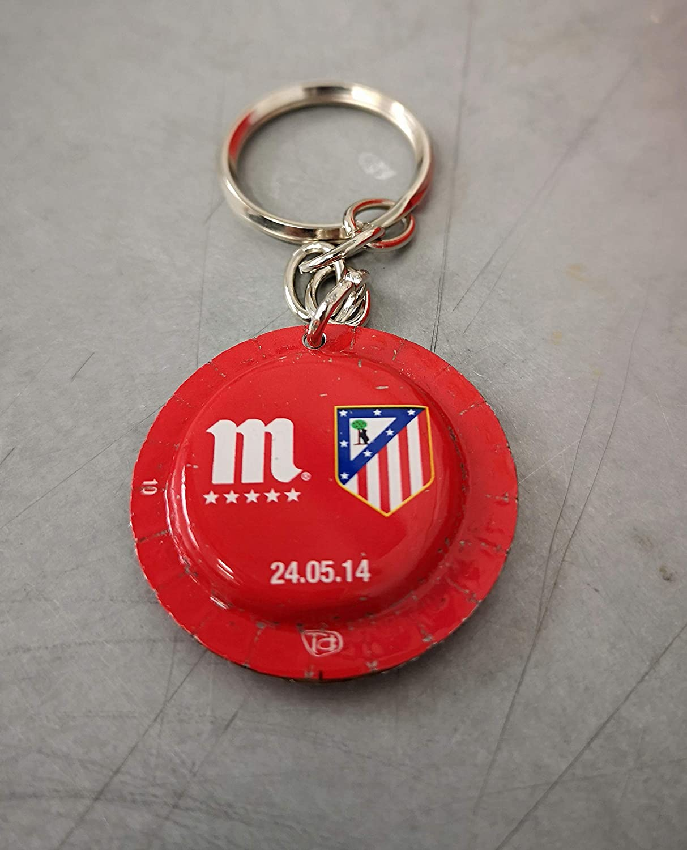Llavero Atletico Madrid Mahou: Amazon.es: Handmade