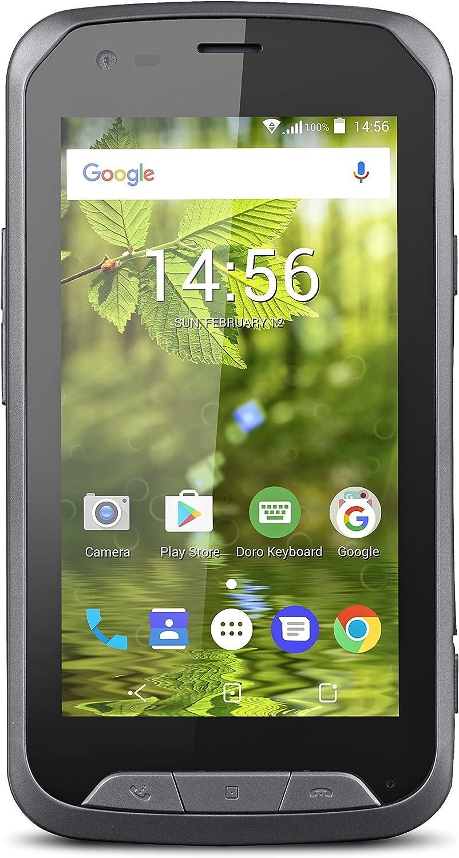 Doro 8020X 4.5 4G 8GB 3000mAh Negro, Gris: Amazon.es: Electrónica
