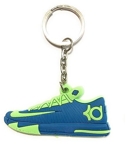 Zapatos Llavero durant/Kobe Zapatillas, Azul/Verde: Amazon ...