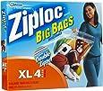 Ziploc XL HD Big Bag (4 Bags)