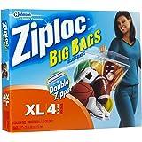 SC Johnson Ziploc Big Bags, XL, 24 x 20 -Inch, 4 Bags