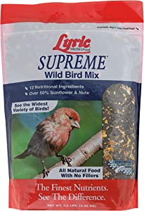 Lyric 2647414 Supreme Wild Bird Mix - 4.5 lb.