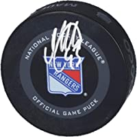 $89 » Mika Zibanejad New York Rangers Autographed 2019 Model Official Game Puck - Fanatics Authentic Certified