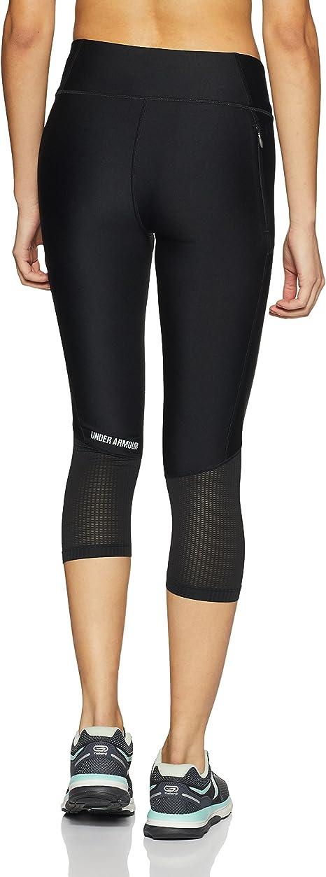 Under Amour FLY BY CAPRI Damen Leggings Sporthose Fitnesshose