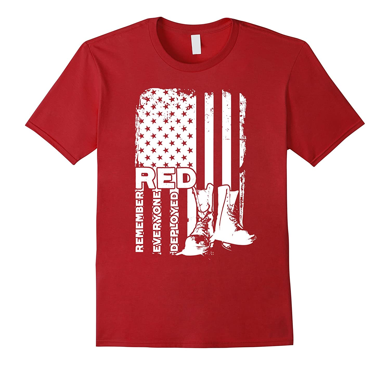Red friday t shirts wear red friday shirt cd canditee for What to wear with a red shirt