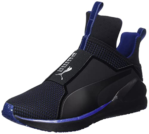 Womens Fierce Velvet Vr Fitness Shoes, Black-Icelandicblue Puma
