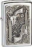Zippo 2001654 No.200 Revolver Emblem Cigarette Lighter