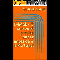 E-book - O que você precisa saber antes de ir a Portugal