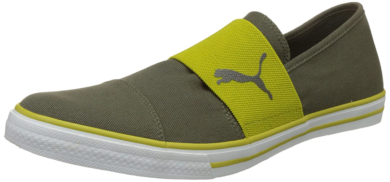 f528f6ee4c6cf1 Puma Men s Alpha Slip On Cv Sneakers  Buy Online at Low Prices in India -  Amazon.in