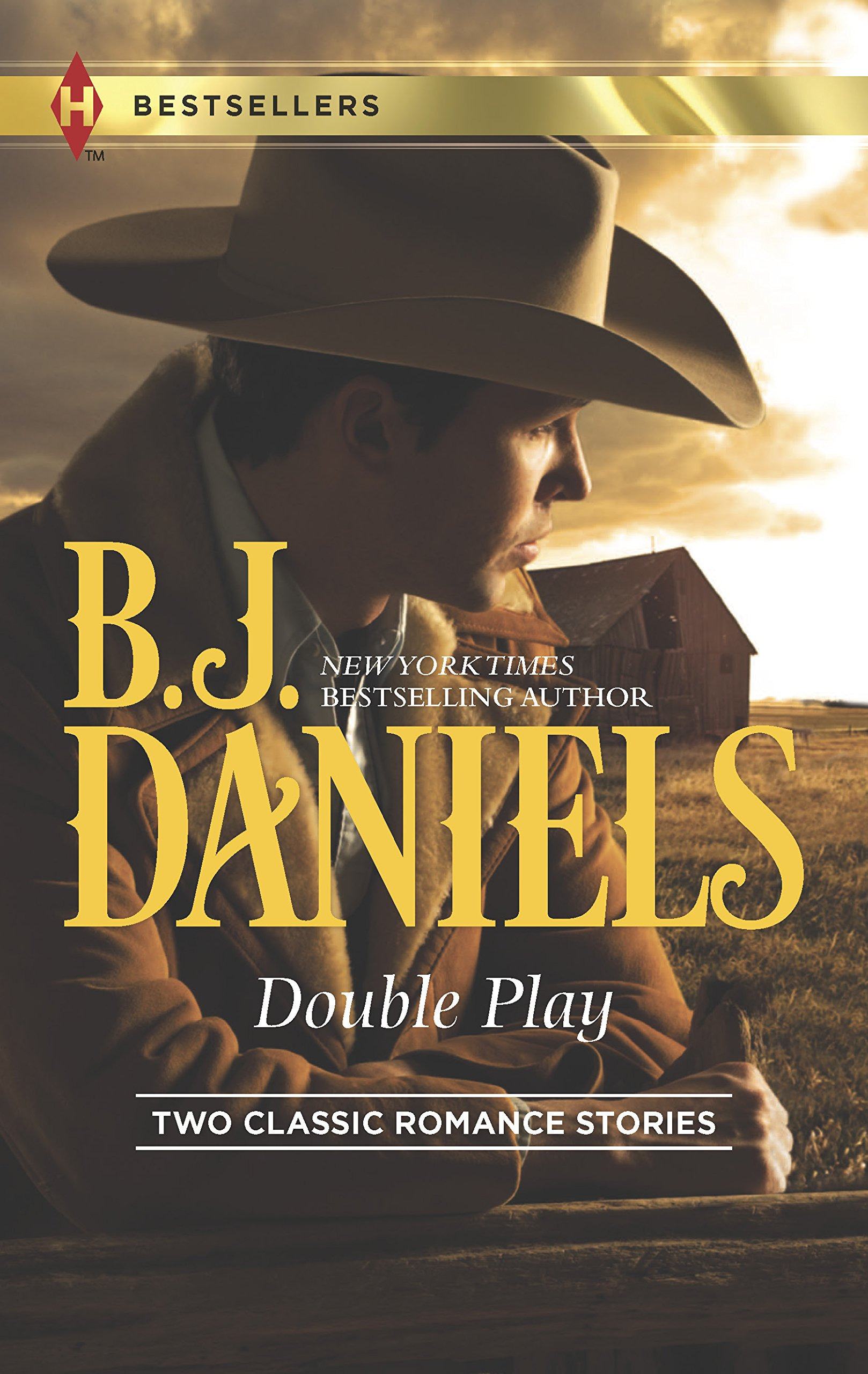 Double Play: Ambushed!High-Caliber Cowboy (Harlequin Bestsellers)