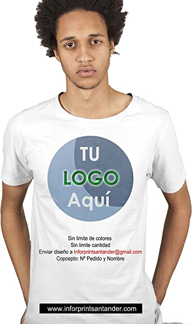 Inforprint Camiseta Personalizada Barata a Todo Color (L)