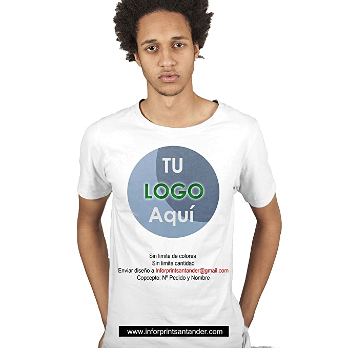 97864e1892e08 Inforprint Camiseta Personalizada Color (XXL)  Amazon.es  Ropa y ...
