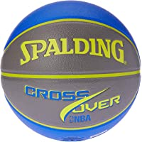 Spalding NBA Cross Over in/Out Basketball, Blue/Grey, Size 7