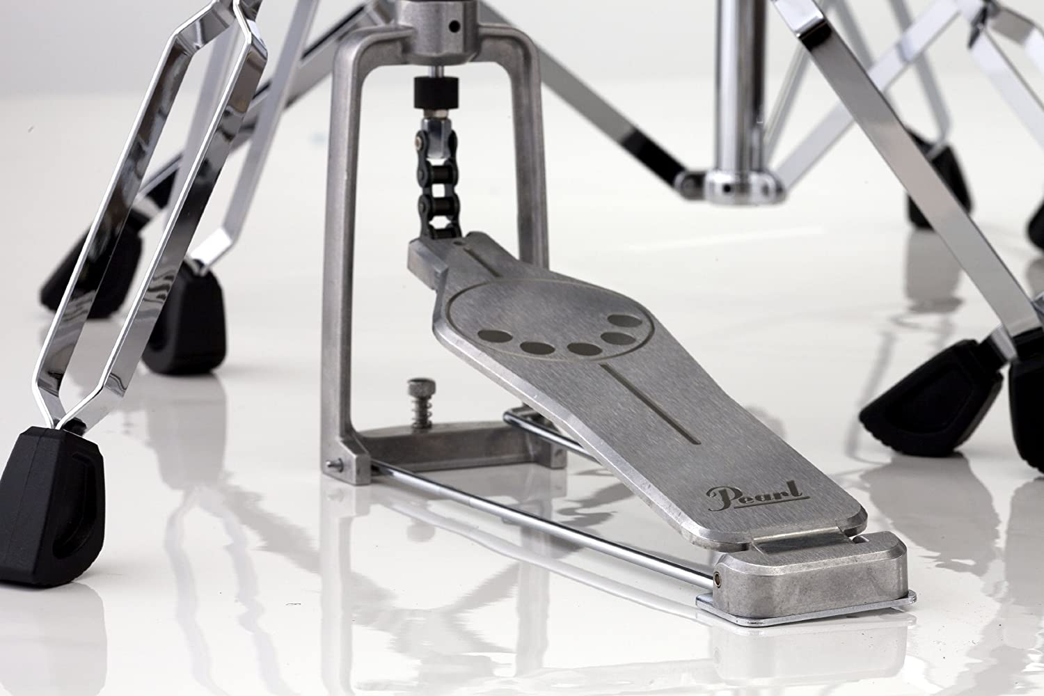 Pearl H830 Hi-Hat Stand, Demonator Style Long Footboard and Swivel Legs Pearl Corporation