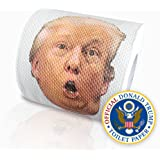 Unlimited Donald Trump Humor Toilet Paper Roll Novelty Funny Gag, 3 Ply, 200 sheets per roll (2 Pack)