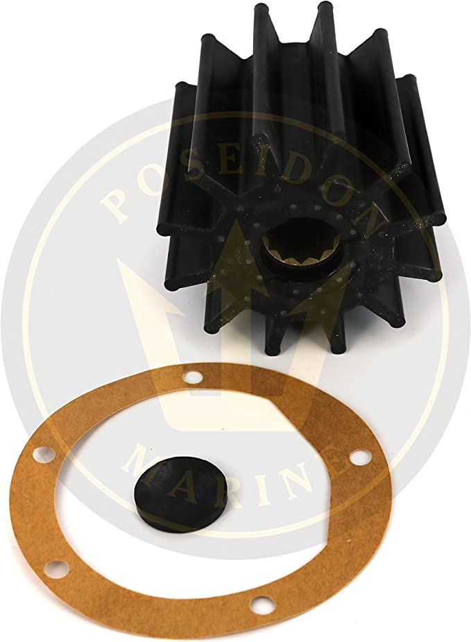 875814 21951364 Replaces #: 875697 Water Pump Impeller for Volvo Penta