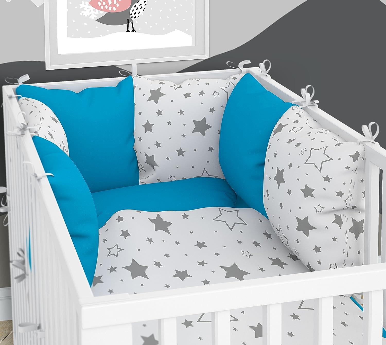 Kissen-Nestchen - Sechs Kissen samt Bezügen für das Babybett 70 x 140 cm KLARA BRIST