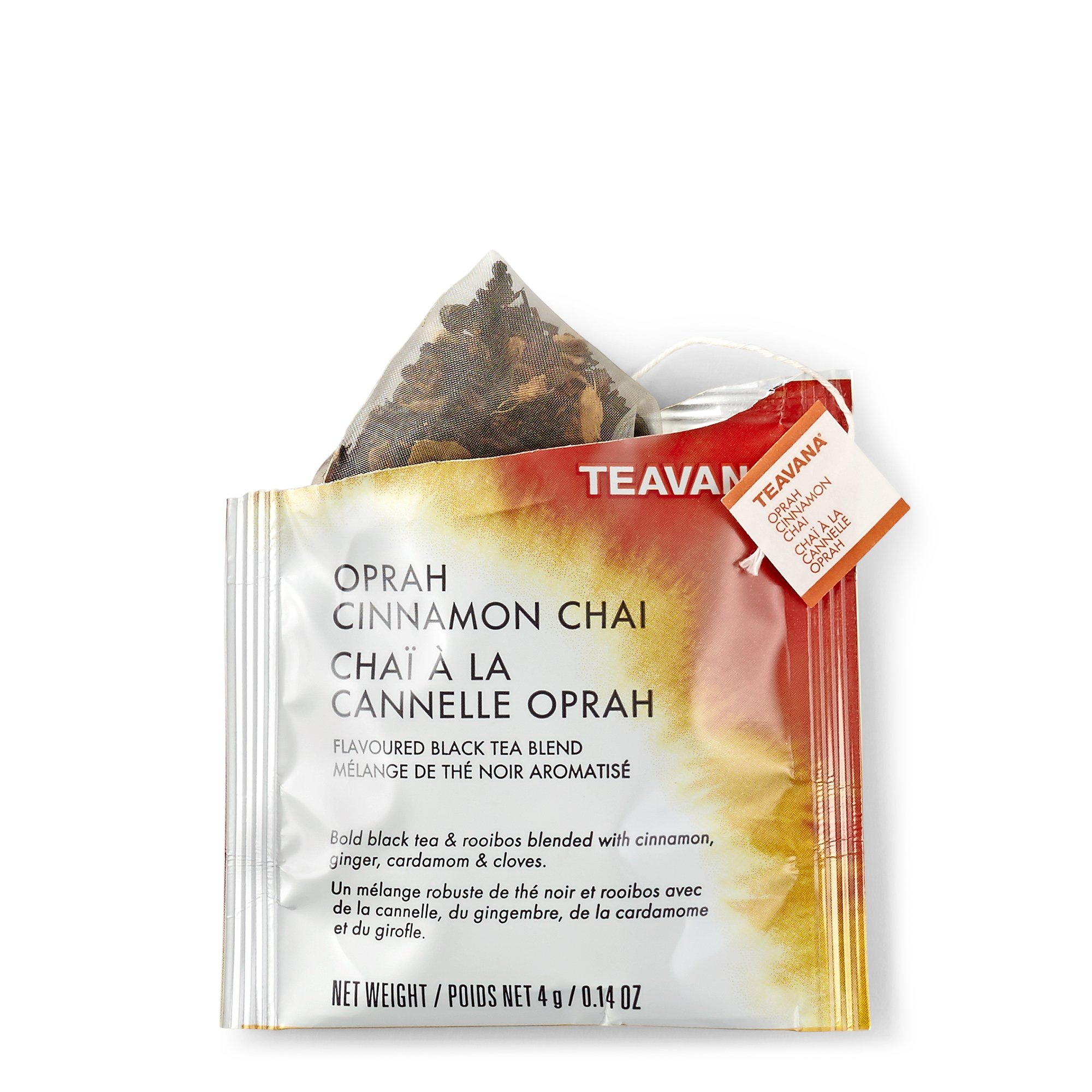 Teavana Oprah Cinnamon Chai Full Leaf Sachets by Starbucks