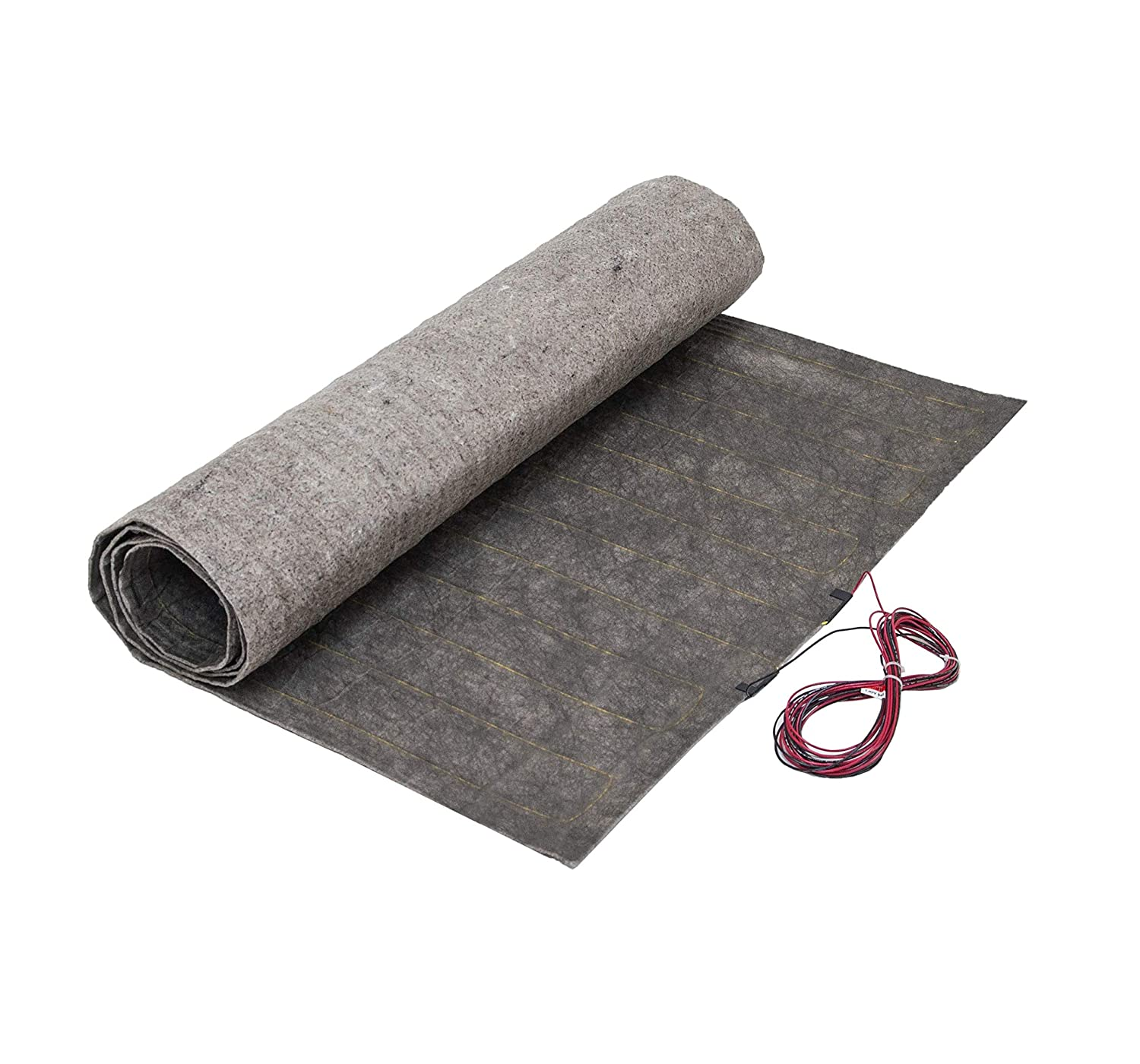 36 Sqft Radiant In-Floor Heating Mat System for Laminate and Wood Floor Heat, 240V, 3 ft x 12 ft