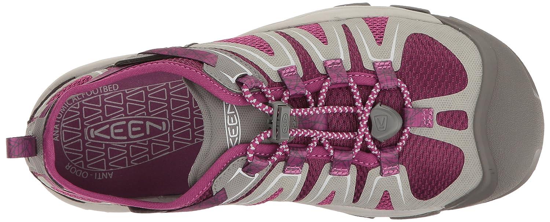 KEEN Women's McKenzie II Hiking Shoe B01H79H7HK 9 B(M) US Neutral Gray/Dark Purple