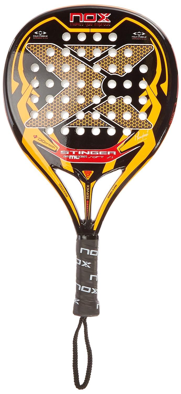 NOX Stinger Soft S.1 Pala Pádel, Unisex Adulto, Naranja, Talla Única: Amazon.es: Deportes y aire libre