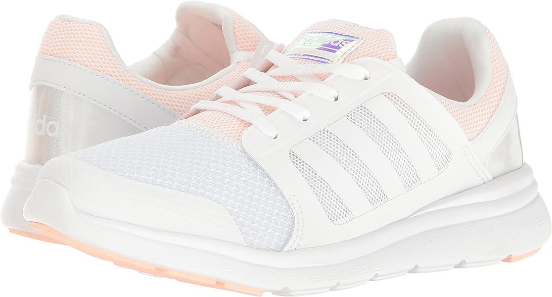 new products b53df 1a543 Amazon.com   adidas Women s Cloudfoam XPRESSION W Running Shoe, White Haze  Coral, 8.5 B - Medium   Road Running