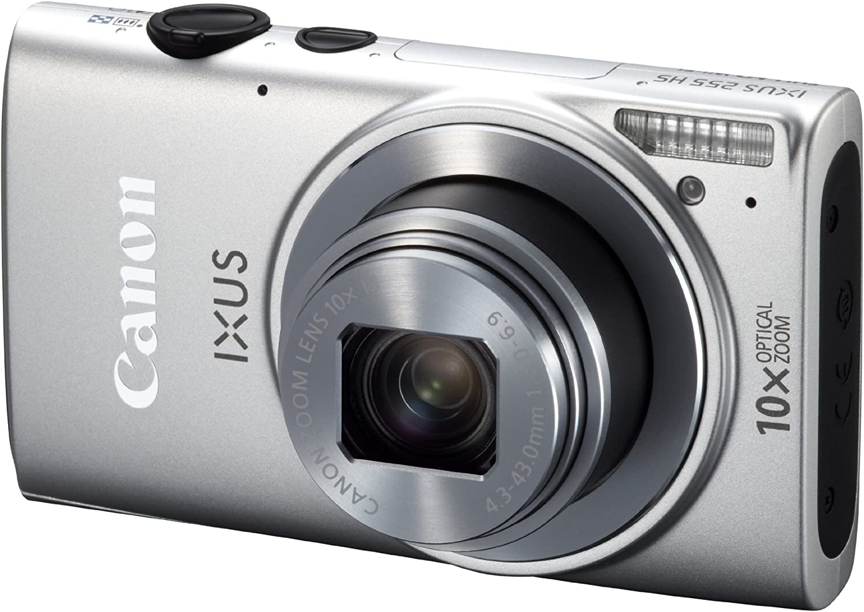 Canon Ixus 255 Hs Digitalkamera 3 Zoll Silber Kamera