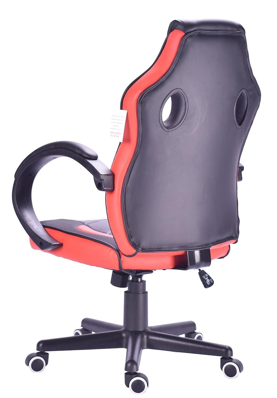 Millhouse diseño de Carreras Deporte giratoria de Oficina Silla Gaming (X2752Red): Amazon.es: Electrónica