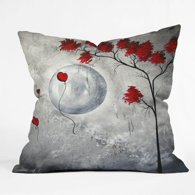 Deny Designs Madart Inc Vintage Stocking 4 Throw Pillow 16 x 16