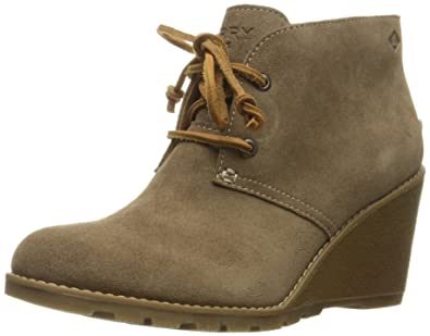 Sperry TopSider Womens Stella prow Ankle Bootie Taupe
