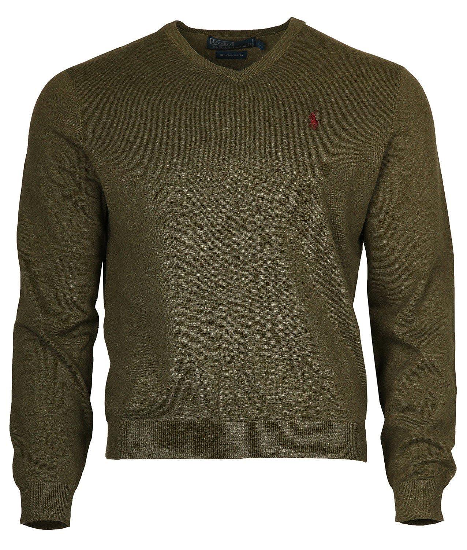 Ralph Lauren Men Pullover green pima Cotton RN41381PSZ-01W-GN