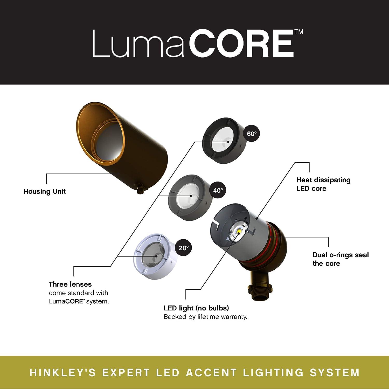 Hinkley Lighting 1536SK-3W3K Landscape Accent Spot Satin Black