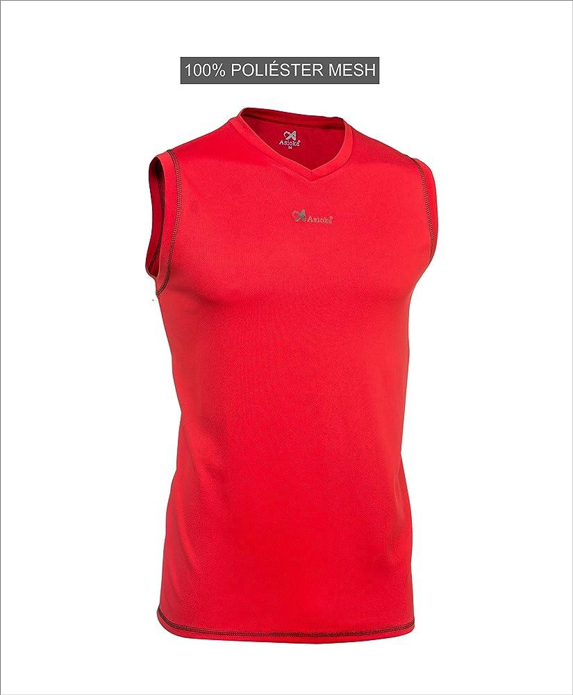 Asioka 184/17N Camiseta de Baloncesto sin Manga, Unisex niños ...