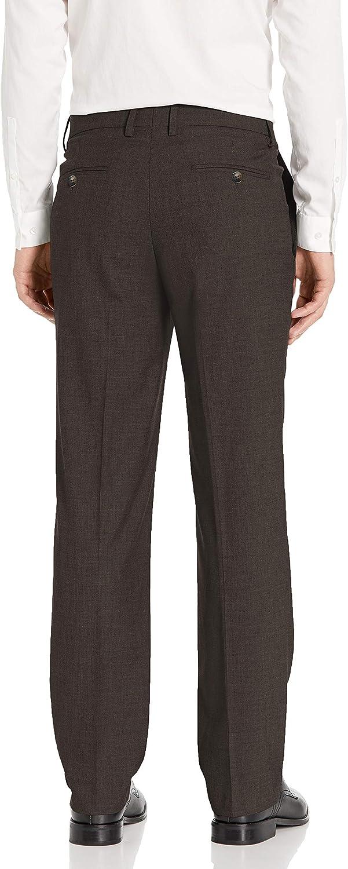 Haggar Mens Sharkskin Premium Straight-Fit Stretch Suit Separate Pant J.M