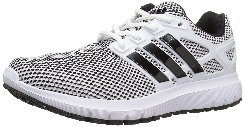 adidas Men's Energy Cloud m Running Shoe B01N78QZFX 9.5 D(M) US|White/Black/Black