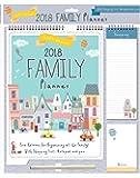 2018 Calendario per organizzatori di famiglia Calendario delle memorie, Lista delle Shopping per penne - Città scenica