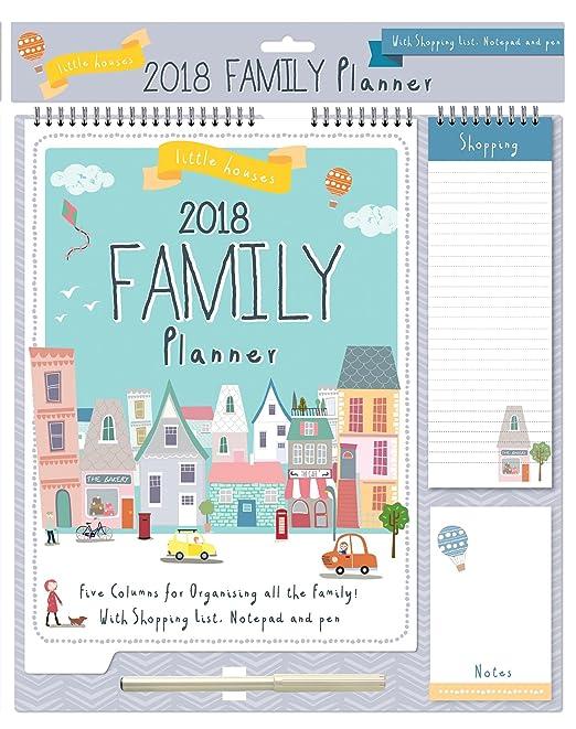 2 opinioni per 2018 Calendario per organizzatori di famiglia Calendario delle memorie, Lista