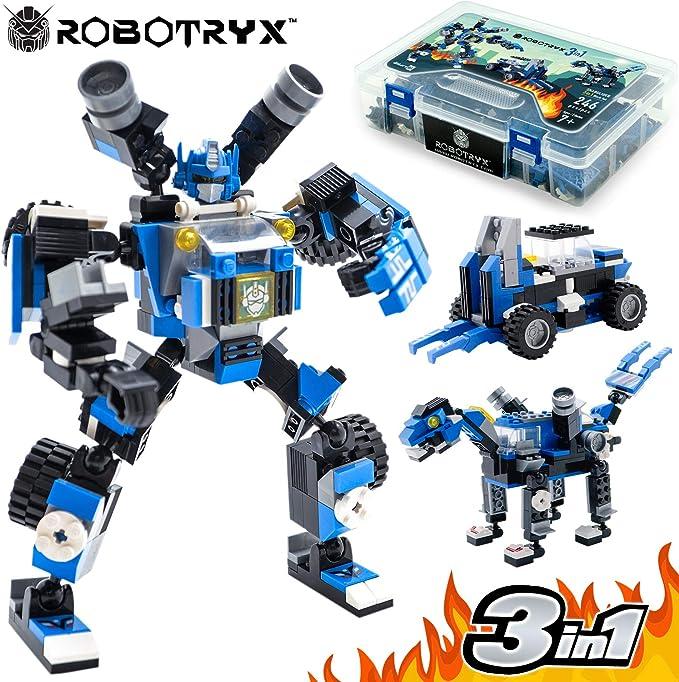 Juguete Robot STEM | divertido juego creativo 3 en 1 | Juguetes de construcción para niños de 6-14 años de edad | El mejor juguete de regalo para niños | Kit de