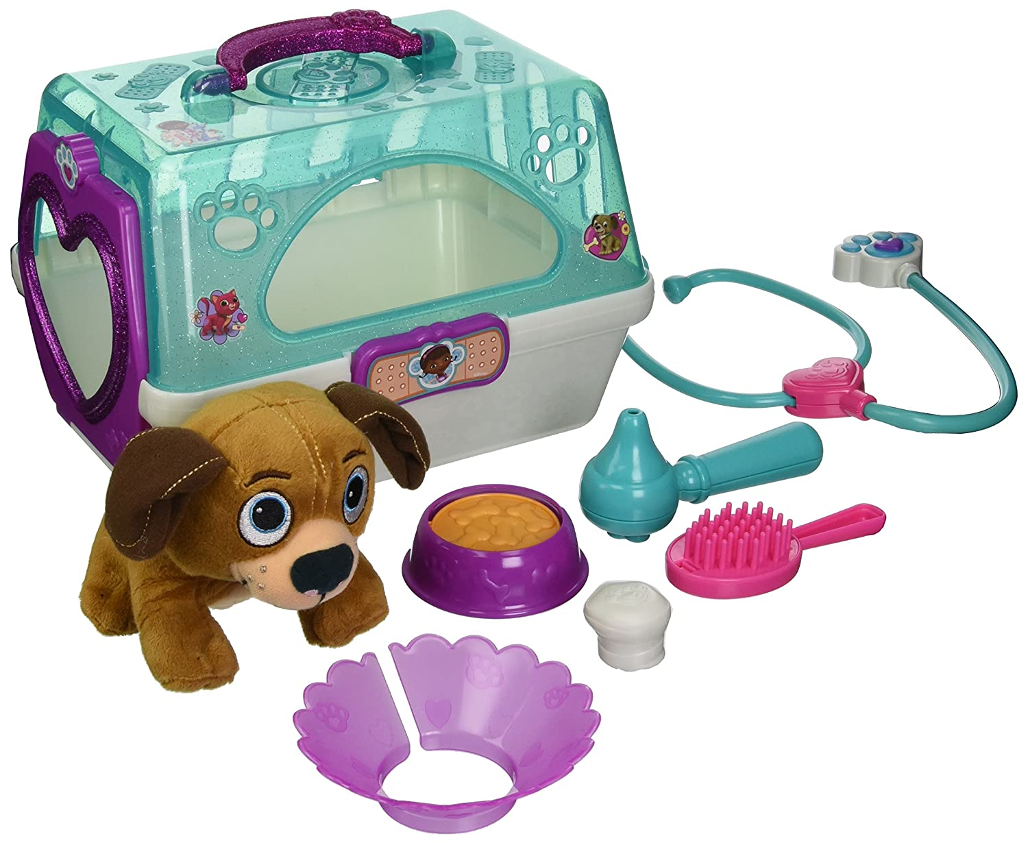 Doc McStuffins Toy Hospital Pet Carrier Findo Plush Just Play 91678
