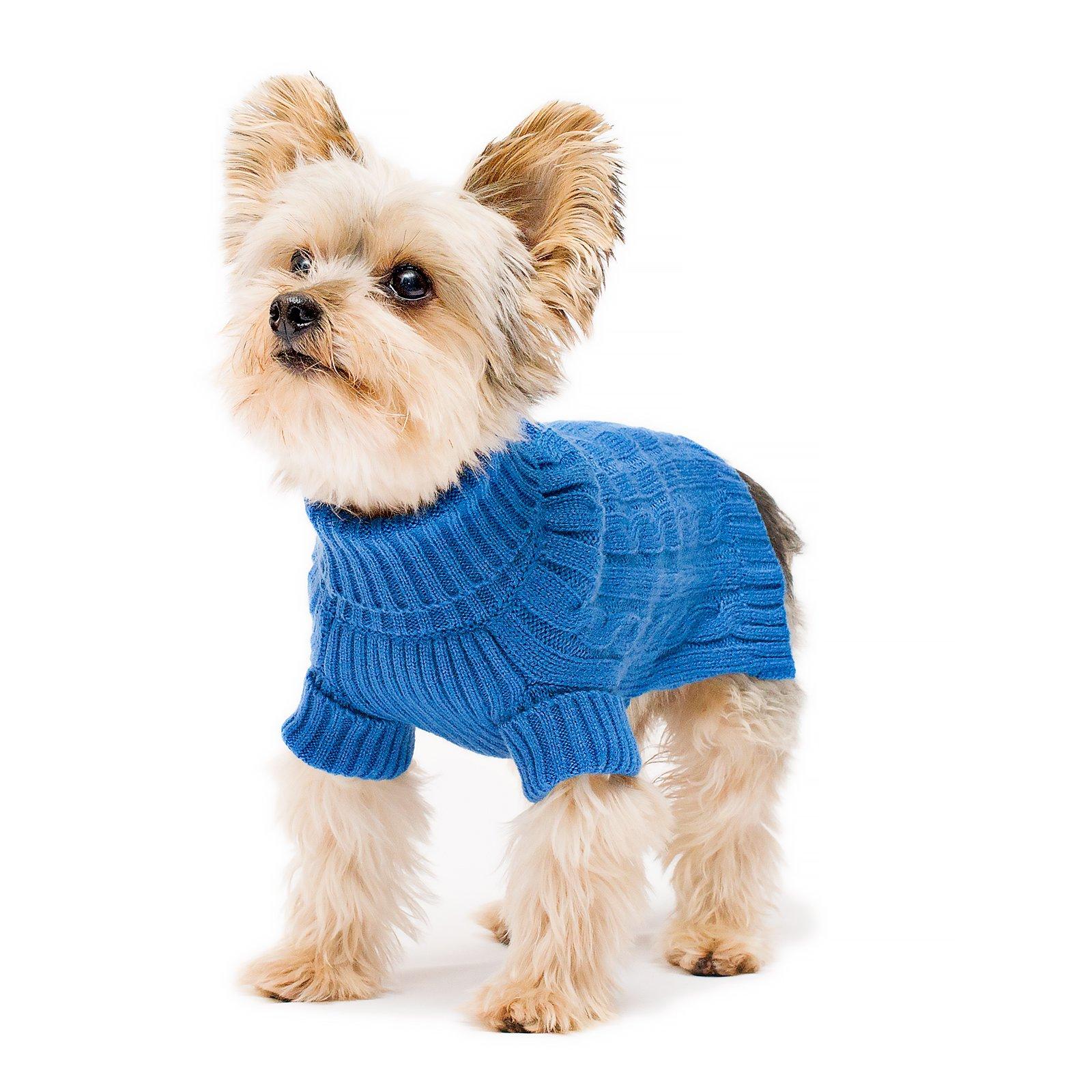 Stinky G Turtleneck Dog Sweater Royal Blue Size #12 by Stinky G