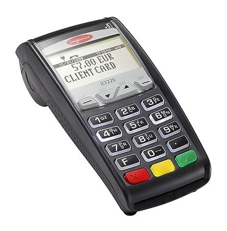 Ingenico iCT220 Dual Com Terminal Smart Card Reader Internal Memory Card Readers at amazon