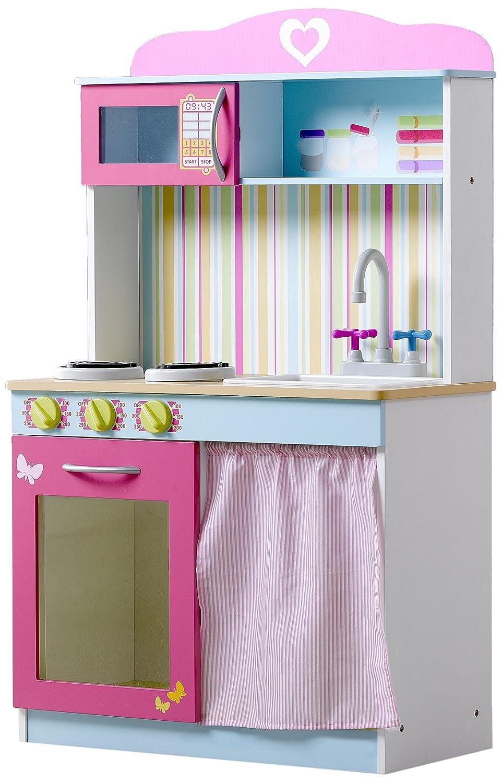 Plum Mews - Cocina infantil de madera: Plum Mews Wooden Role Play Kitchen: Amazon.es: Juguetes y juegos